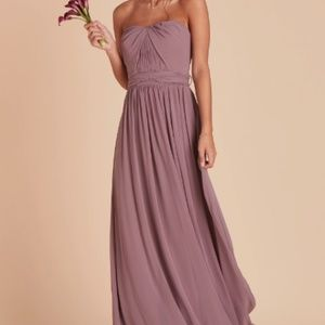 Birdy Grey Bridesmaid Dress Dark Mauve Medium